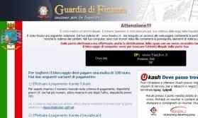 """Bloccare sul nascere """"Virus Polizia Postale - Guardia di Finanza"""" su windows 7"""